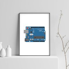 Nerd Gifts, Nerd Art, Home Wall Art, Print Poster, Computer Science, Arduino, Art Decor, Geek Stuff, Unique Jewelry
