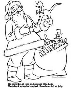 Christmas Mrs. Claus coloring page - Bing images