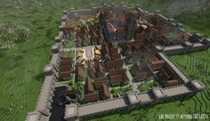 Timelapse Animation - Beyond the Earth Minecraft Project