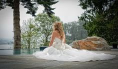 Wedding photo by PMD Photography and Essense of Australia Wedding Dress D1360