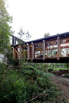 Gallery of Bridge House / Aranguiz-Bunster Arquitectos - 9