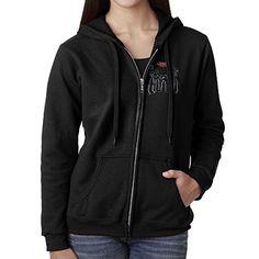 Marble ProSphere Clarion University Girls Zipper Hoodie School Spirit Sweatshirt