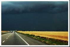 I'd turn back if I were you.  Good idea! Unless you are a storm chaser...