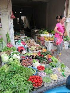 Vietnamilaisella torilla