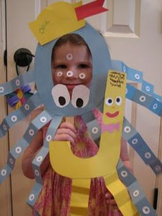 """letter J and o crafts (I like the """"Jumping Jack)"""