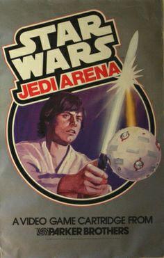 Star Wars Jedi Arena Atari, 1983 - original vintage poster listed on AntikBar.co.uk