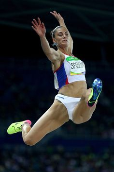 Ivana Spanovic Photos - Ivana Spanovic of Serbia competes during the Women's Long Jump Qualifying Round on Day 11 of the Rio 2016 Olympic Games at the Olympic Stadium on August 2016 in Rio de Janeiro, Brazil. Rio Olympics 2016, Summer Olympics, Tennis Funny, Long Jump, High Jump, Pole Vault, Boot Camp Workout, Boxing Workout, Gymnastics Girls