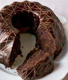 Corona de chocolate