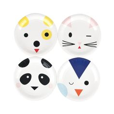 Mini Animals van My Little Day is een leuke feestlijn voor kinderen die dol zijn op dieren. Deze bordjes zijn er in vier verschillende dieren (pinguïn, kat, ...