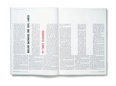 A literary magazine. Book Design Layout, Page Layout, Editorial Layout, Editorial Design, Print Magazine, Magazine Design, Layout Inspiration, Graphic Design Inspiration, Magazine Spreads