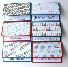Do it yourself gift card holder too cute crafty stuff christmas winter holiday gift card holders handmade goodness for store bought giftcards solutioingenieria Image collections