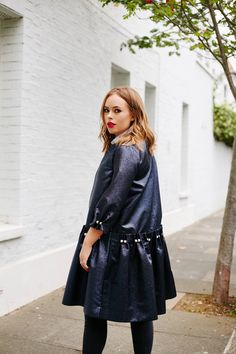 Tanya Burr - I felt so lucky to be wearing the most beautiful jacket/coat to the OSMAN show. Oh my goodness it was just devine and I wish I could keep it forever! (Sadly it's already packed… View Post