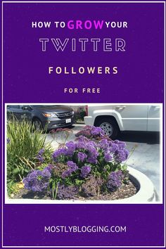 #Blogging is easier with Twitter followers