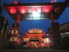 Klenteng Liong Hok Bio, dari gerbang depan, Magelang