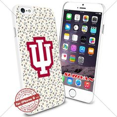 New iPhone 6 Case Indiana Hoosiers Logo NCAA #1197 White Smartphone Case Cover Collector TPU Rubber [Anchor] SURIYAN http://www.amazon.com/dp/B01504GHCK/ref=cm_sw_r_pi_dp_nNJxwb0VGWER1