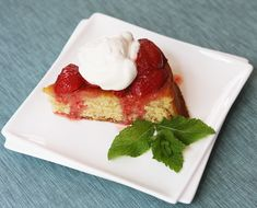 Strawberry and brown butter  Shortcake mom