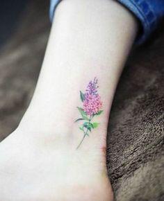small lilac tattoo