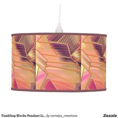 Illuminate your home with Lighting lamps from Zazzle. Choose from our pendant, tripod or table lamps. Find the right lamp for you today! Pendant Lamps, Light Pendant, Lamp Light, Pendant Lighting, Tumbling Blocks, Table Lamp, Ceiling Light Fixtures, Table Lamps, Hanging Pendants
