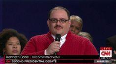Ken Bone: The real presidential debate winner