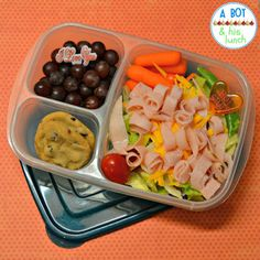 Yummy salad packed in an #EasyLunchboxes