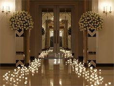 Ballroom entrance, Claridge's - Inspiration Gallery Wedding Venue Image
