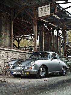 Porsche 356 type B super 90, built in 1963
