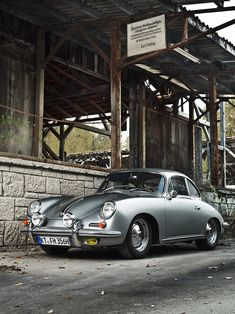 Porsche 356 type B super 90, built in 1963 - photo by Rolf Nachbar