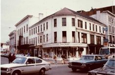 The Nesmith Building at Merrimack & John Streets (Fanny Farmers Candies) - 1972