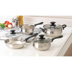 Stainless Steel Cookware Set - $69.00 #onselz