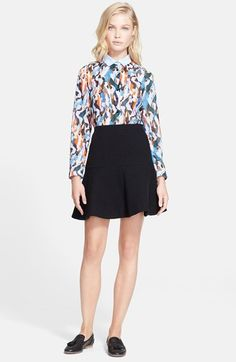 Carven Shirt & Skirt  available at #Nordstrom