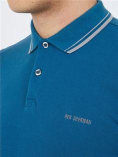 "#BenSherman ""Block Font Pique Polo Shirt"" #polo #shirt #british #britishstyle #bensherman #benshermanshirt #rebajas #sales #ofertas #offers #liquidacion http://www.rivendelmadrid.es/marcas/ben-sherman.html?tipo_prenda_hombre=379"