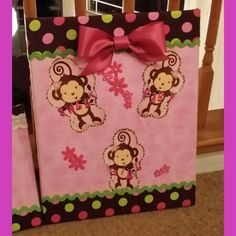 Large baby girl Canvas