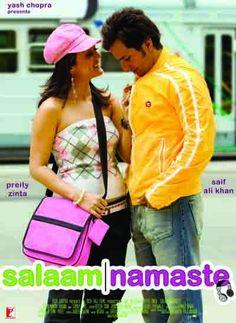 Orginal Poster from the movie, salaam Namaste (2005)