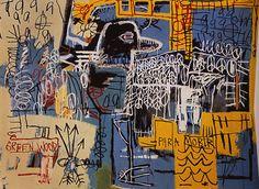 Art: Jean-Michel Basquiat #JeanMichelBasquiat #Basquiat Twitter : @AdrienRosier www.adrienrosier.com