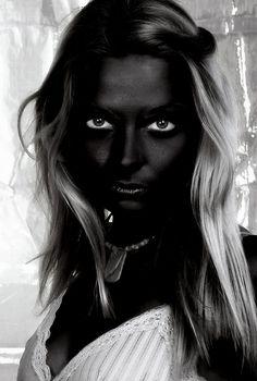Pitch Black Skin Retouch