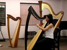 Harp- Little Fountain - Samuel Pratt-YouTube (slower)