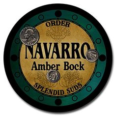 Navarro Beer - 4 pack Rubber Drink Coasters ZuWEE http://www.amazon.com/dp/B00LUHPS40/ref=cm_sw_r_pi_dp_nXgqub001P6A3