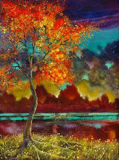 Ford Smith ~ Soyut Dışavurumcu ressam
