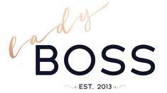 Boss Lady, Company Logo, Logos, Logo