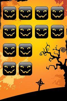 icon wallpaper - halloween style