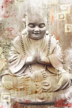 #Buddhist monk poster 61 x 91cm wall #decor home bedroom #livingroom,  View more on the LINK: 	http://www.zeppy.io/product/gb/2/281650221564/