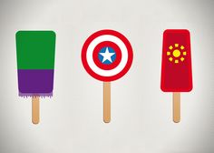 Superhero Ice Pops by Chung Kong (1)