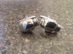 New boxing glove cuff links my lovely fiancé brought me.
