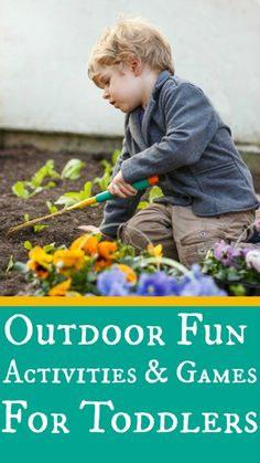 7 Fun Loving Outdoor Activities & Games For Your Toddlers