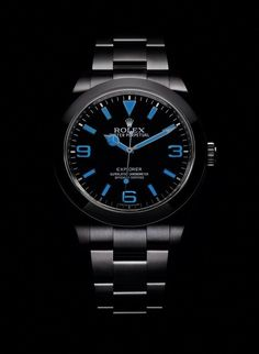 The @rolex Oyster Perpetual Explorer features applied numerals, hour markers, and hands, made of 18k white gold and treated with Chromalight, an exclusive, long-lasting luminescent material that glows bright blue in low light. To further enhance the dial's legibility, Rolex has added broader, longer hour and minute hands. More @ http://www.watchtime.com/wristwatch-industry-news/watches/new-rolex-explorer-features-enhanced-luminescence/ #rolex #watchtime #Baselworld2016