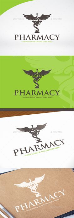 Pharmacy Logo Template PSD, Vector EPS & AI. Download here: http://graphicriver.net/item/pharmacy-logo-template/14926200?ref=ksioks