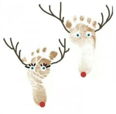 Fun reindeer craft