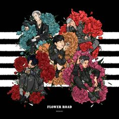 """Flower Road"" Fan Arts • BIGBANG Updates"