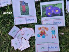 Singular y plural con sus artículos :El sonido de la hierba al crecer