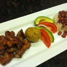 Mofongo  Allrecipes.com.  This recipe is more adapted to our kitchens and cooking methods.